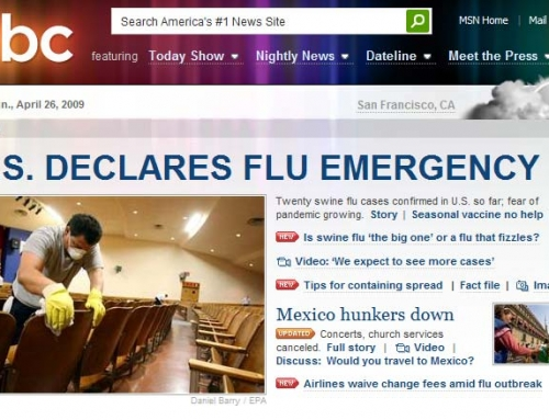 Swine Flu… Another Over Hyped Media Event