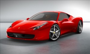 Ferrari 458 Italia side front