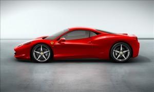 Ferrari 458 Italia side