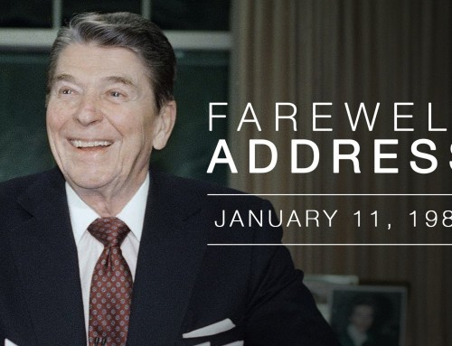 President Reagan's Farewell Speech from the Oval Office