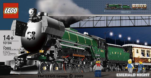 Lego Emerald Night Train