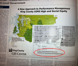 "Thumbnail image for King County MAP ""Where Commuters Run Over Black Children"""