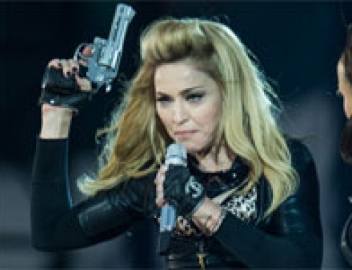 Madonna Admits Guns Don't Kill People, People Kill People