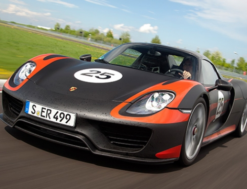 Porsche 918 Technology Marvel.