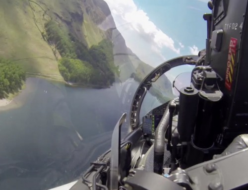 Low Level Flight Video From Inside the Cockpit of One of the World's Fastest Jets