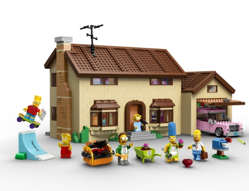 Simpson's Lego Set to go on Sale February 1