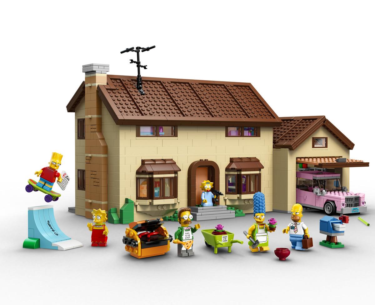 Sale On Legos Simpsons Lego Set To Go On Sale February 1 Eransworld