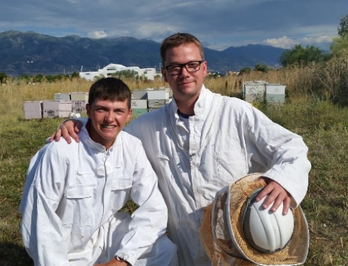 Bee Thieves Sting Young Utah Beekeeper/ Utah Entreprenuers Step Up with Funding