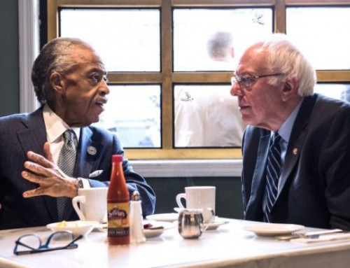 Bernie Sanders Asks Al Sharpton For Support
