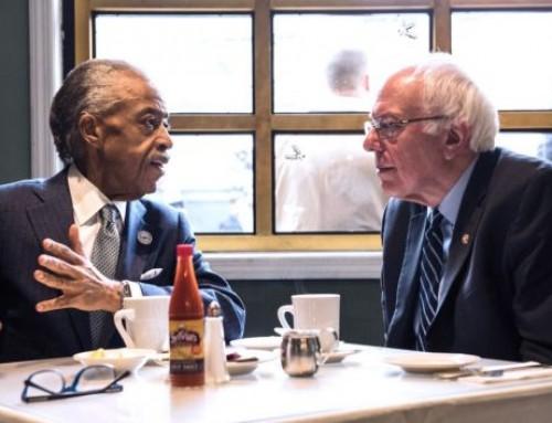 Bernie Sanders Asks Al Sharpton For Support